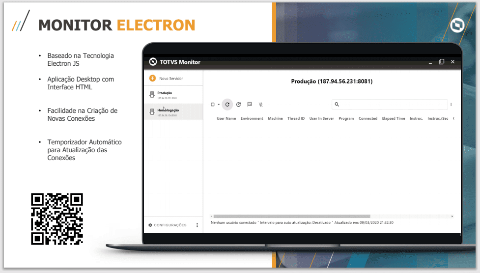 Monitor electron